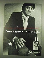 1972 Pub Cologne Ad - Joe Namath