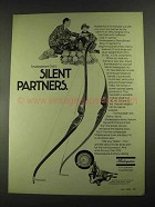 1972 Shakespeare Necedah and Sierra Bows Ad
