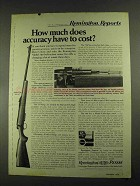 1972 Remington Model 788 Rifle Ad - Accuracy