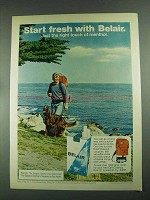 1972 Belair Cigarettes Ad - Start Fresh