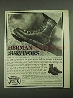 1972 Herman Survivors Boots Ad!