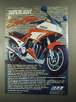 1987 SuperTrapp Superlight Exhaust Ad - Yamaha FJ1200