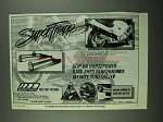 1987 SuperTrapp Exhaust System Ad - Honda CBR-1000