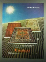 1981 Couristan Kashimar Collection Rugs Ad
