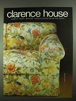 1981 Clarence House Fabric Ad - Chintz: Sologne