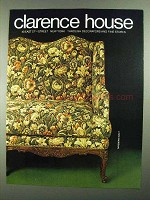 1981 Clarence House Fabric Ad - Tapisserie Sully