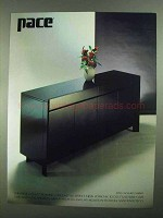 1981 Pace 8750 Lacquer Cabinet Ad