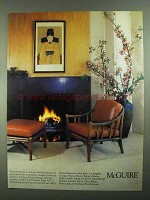 1981 McGuire Furniture Advertisement