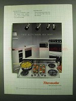 1981 Thermador Appliances Ad - The Kitchen as Art