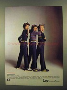 1981 Lee Fashion Jeans Ad - They're School-Proof