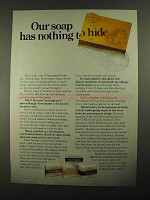 1981 Neutrogena Soap Ad - Has Nothing to Hide
