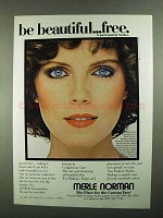 1981 Merle Norman Cosmetics Ad - Be Beautiful
