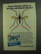 1981 ProCort Anti-Itch Cream Ad - On the Lake