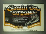 1981 S&S Headers Ad - Comin' On Strong