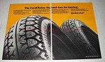 1981 Continental ContiTwins Tires Ad - Best for Touring
