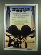 1988 U.S. Air Force Ad - Pass Other Hotshot Mechanics
