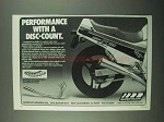 1988 SuperTrapp Exhaust System Ad - With a Disc-Count