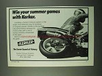 1988 Kerker Exhaust System Ad - Win Summer Games