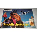 1988 Camel Cigarettes Ad - Smooth Characters