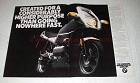 1988 BMW K100RS Motorcycle Ad - Higher Purpose