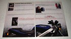1988 Honda Hawk GT Motorcycle Ad - Follow Instincts