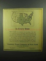 1943 Guaranty Trust Company of New York Ad - In Every State