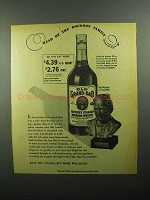1943 Old Grand-Dad Bourbon Ad - Head of Family