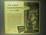1943 Sturtevant Fans and Heaters Ad - Smoke House