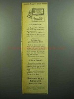 1943 Rogers Peet Clothing Ad - The Perfect Gift