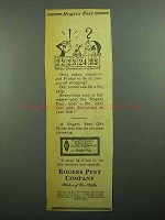 1943 Rogers Peet Clothing Ad - Your Put-Off Shopping