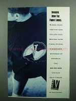 1990 Vance & Hines Issue V Clothing Ad - Imagine How