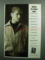 1990 Vance & Hines Issue V Clothing Ad - Our Idea