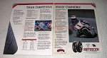 1990 Metzeler Comp K ME33 Laser and ME1 Tires Ad