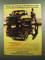 1989 Chevy S-10 Tahoe Pickup Truck Ad - Best-Looking