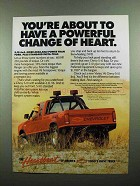 1989 Chevy S-10 Baja Pickup Truck Ad - Change of Heart