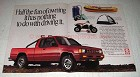 1989 Dodge Power Ram 50 Pickup Truck Ad - Fun of Owning