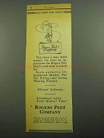 1943 Rogers Peet Company Ad - Man Looks Around