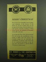 1943 Lee Rubber & Tire Ad - Merry Christmas