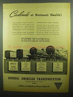 1942 GATX General American Transportation Ad - Health