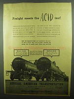 1942 GATX General American Transportation Ad - Acid