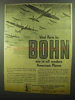 1942 Bohn Aluminum and Brass Ad - Vital Parts in Planes