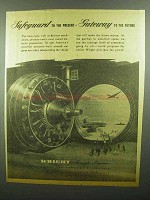 1942 Wright Aircraft Engines Ad - Gateway to the Future