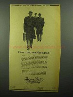 1942 Rogers Peet Company Advertisement - Only One Montagnac