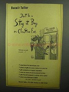 1942 Bonwit Teller Ad - Don't Be A Stag at Bay
