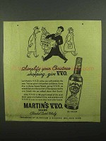1942 Martin's Scotch Ad - Simplify Christmas Shopping