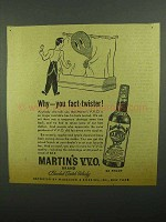 1942 Martin's Scotch Ad - Why You Fact-Twister