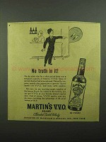 1942 Martin's Scotch Ad - No Truth In It!
