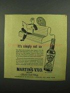 1942 Martin's Scotch Ad - It's Simply Not So