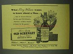 1942 Old Schenley Bourbon Ad - Every Woman Wants