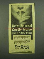 1942 Celotex Sound-Conditioning Ad - Noise From Offices